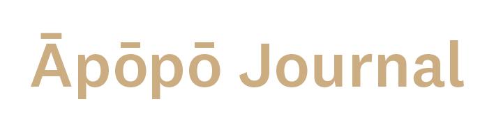 Āpōpō Journal